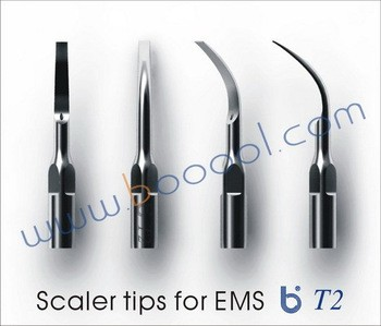 3Pcs Baola Dental Ultrasonic Scaler Tip T2 BAOLAI/EMS/MECTRON