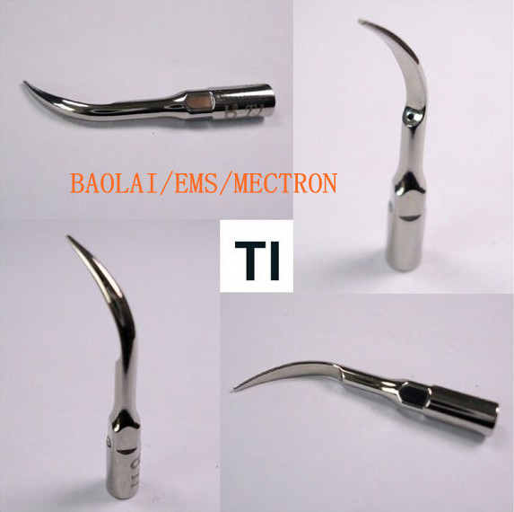 3Pcs Baola Dental Ultrasonic Scaler Tip T1 Compatible with BAOLAI/EMS/MECTRON