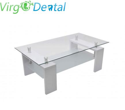 Waiting Room High Gloss White Coffee Table