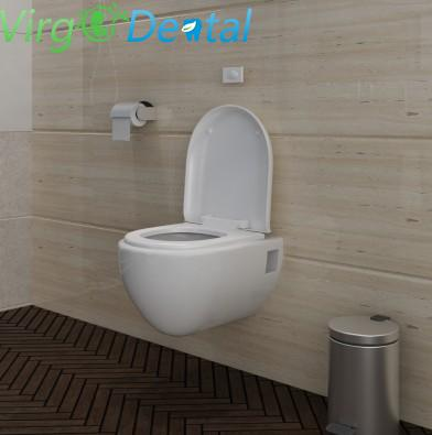 New Wall-mounted toilet set unique design white Home / Clinic