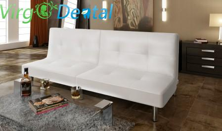 Bar Designed Sofa Bed Set White Home/ Clinic