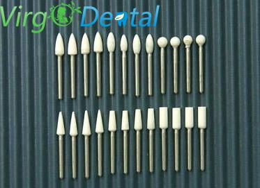 30pc Dental White Finishing Stone FG Polishing Composite and Porcelain
