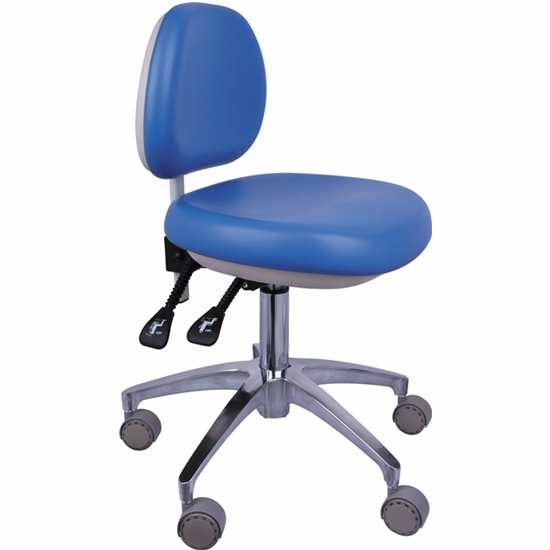 Nurse Stool Height Adjustable Operatory Chair Sofa Leather QY-G