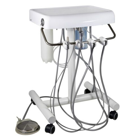 Dental Portable Equipment Self Delivery Handpiece Cart Unit