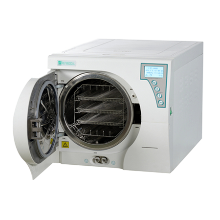 P&T® Autoclave 23 liters Class B with USB PRINTER Top-designed Reservoir BTD23