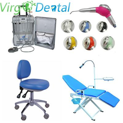 Portable Unit GU-P206 + Air Polisher + Adjustable Operatory Chair +  Portable Folding Chair