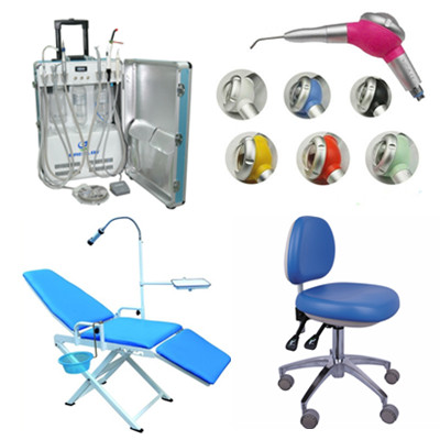 Portable Unit GU-P206 + Air Polisher + Adjustable Operatory Chair +  Portable Fo...
