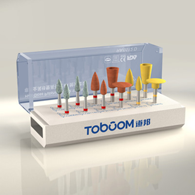 RA0512D Toboom 10pcs Dental Lab Polishing Kit for Alloy