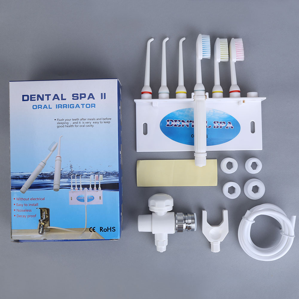 Dental SPA Water Jet Flosser Oral Irrigator Teeth Toothbrush Sets Pick Cleaner