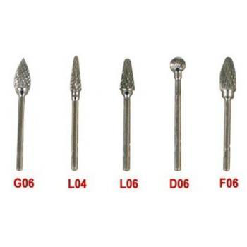 5PCS Tungsten Carbide Burs For Micro Motor