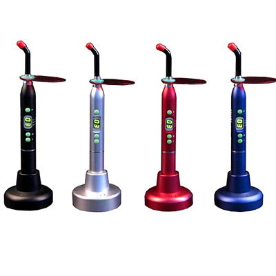 Dental Curing Light Wireless 5W LED Blue Ray Lamp