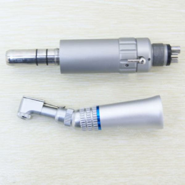 Dental Low Speed Air Motor Contra Angle Handpiece Kit