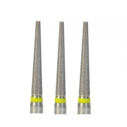 100 Pcs 1.6mm Diamond Bur Bits Drill FG TF-21EF