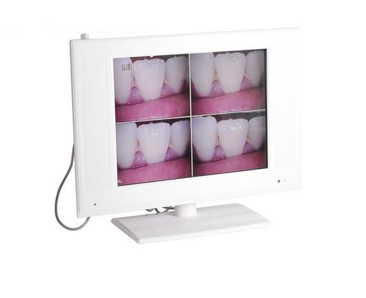 15 inch LCD High Resolution 1/4 SONY CCD Intraoral Camera M-958