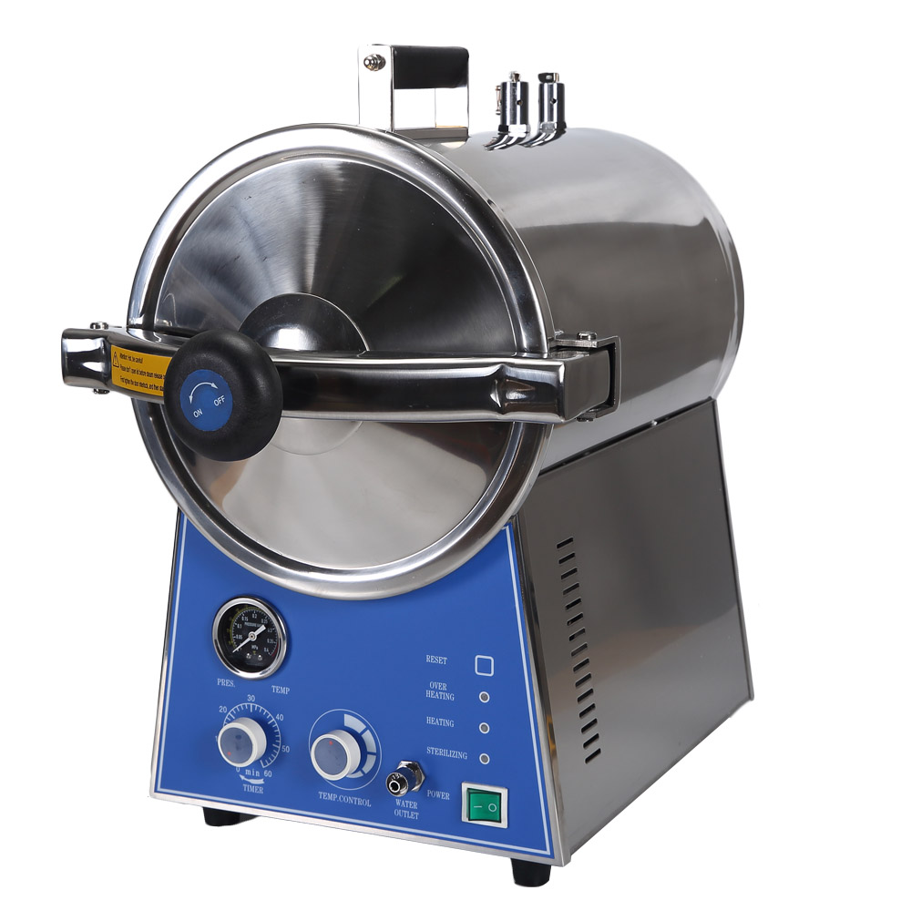 BJ Table Top Pressure Steam Sterilizer 24L Dental Autoclave