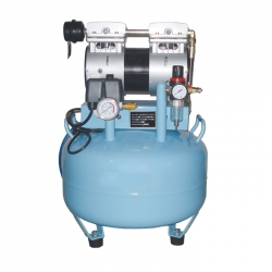 Dental Air Compressor Silent Oilless Noiseless 3/4 HP BD-101