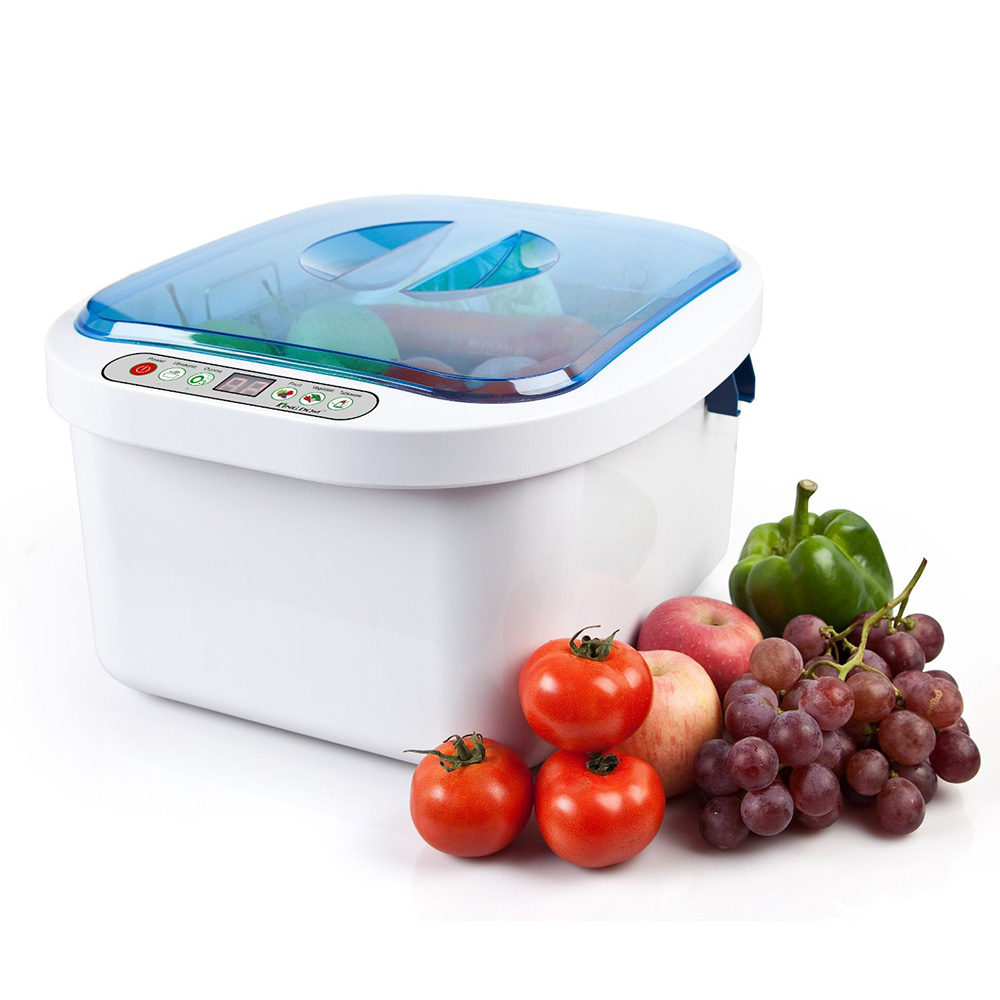 Home Use KD-6001 Ultrasonic and Ozone Vegetable/ Fruit Sterilizer