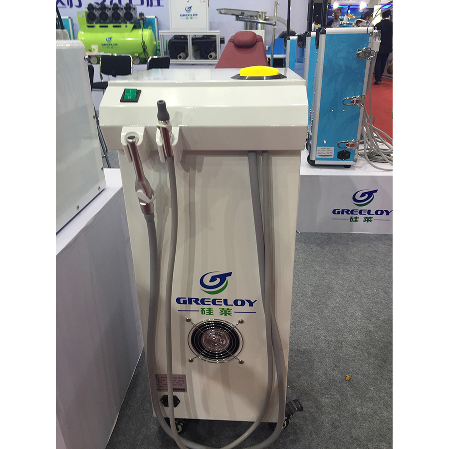 Greeloy Dental Vacuum Pump Suction Unit -Saliva Ejector+High Volume Evacuation For Clinic