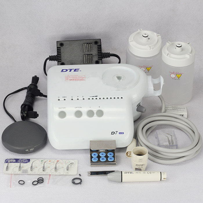 Woodpecker DTE Scaler Dental Ultrasonic LED Scaling with DTE Satelec Scalers Fib...