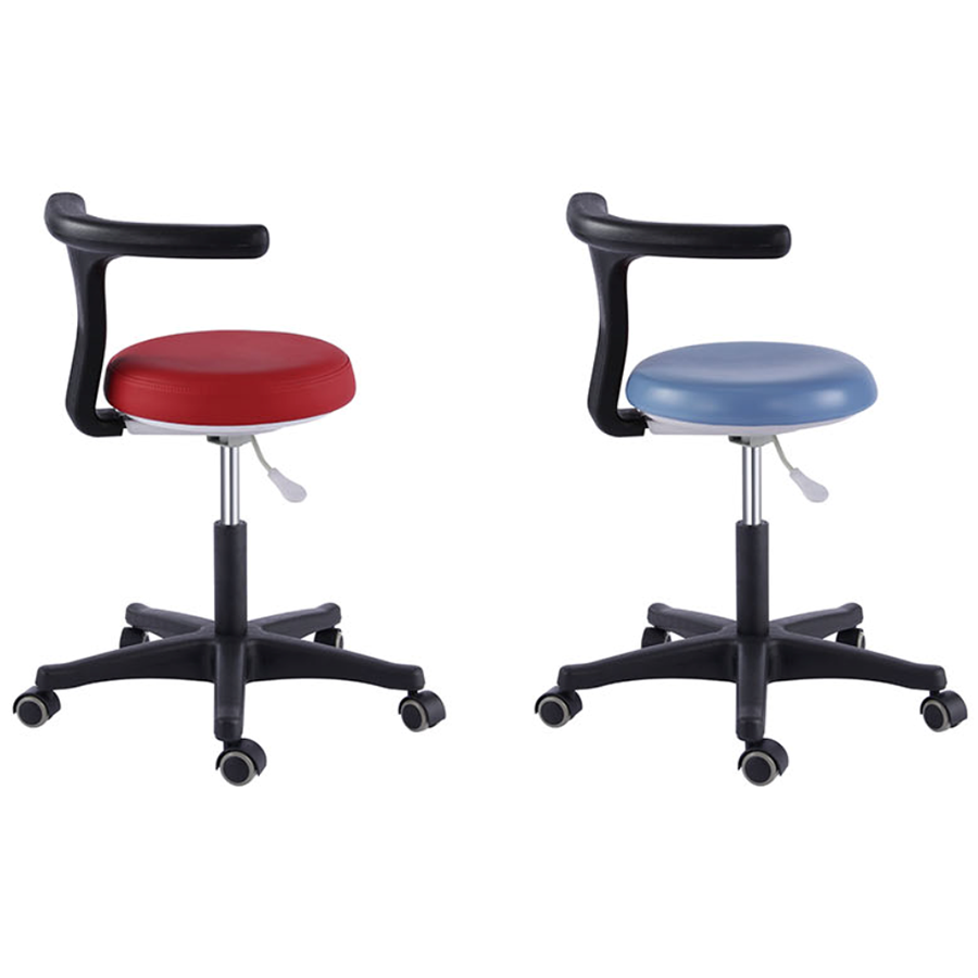 Dental Chair - Dentist Stool Medical Office Adjustable Nurse Chair PU Leather - ...