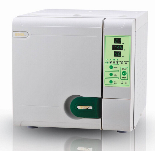 Getidy 23L Class B Dental Autoclave Sterilizer with Printer Vacuum Drying For Dental Medical Lab Beauty Nail Salon