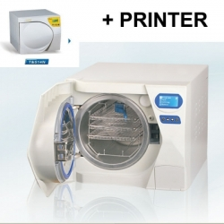 Autoclave Steriliser Vacuum Steam Fully Automatic 23L Class N with Printer for Dental Clinics Beauty Nail Tattoo Salon