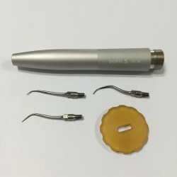 Dental Hygienist Air Scaler Handpiece + SJ1 SJ2 SJ3 Tips