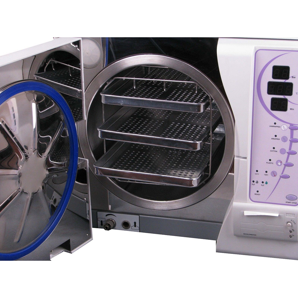 Sun 23L Class B Autoclave Steriliser Vacuum Steam Machine with Printer