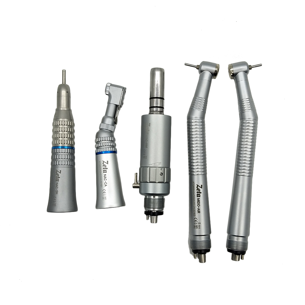 Dental High Speed Wrench Type Handpiece and Low Contra Angle Kit