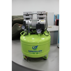 Greeloy 800W Dental Air Compressor GA-81XY With Dryer and Silent Cabinet