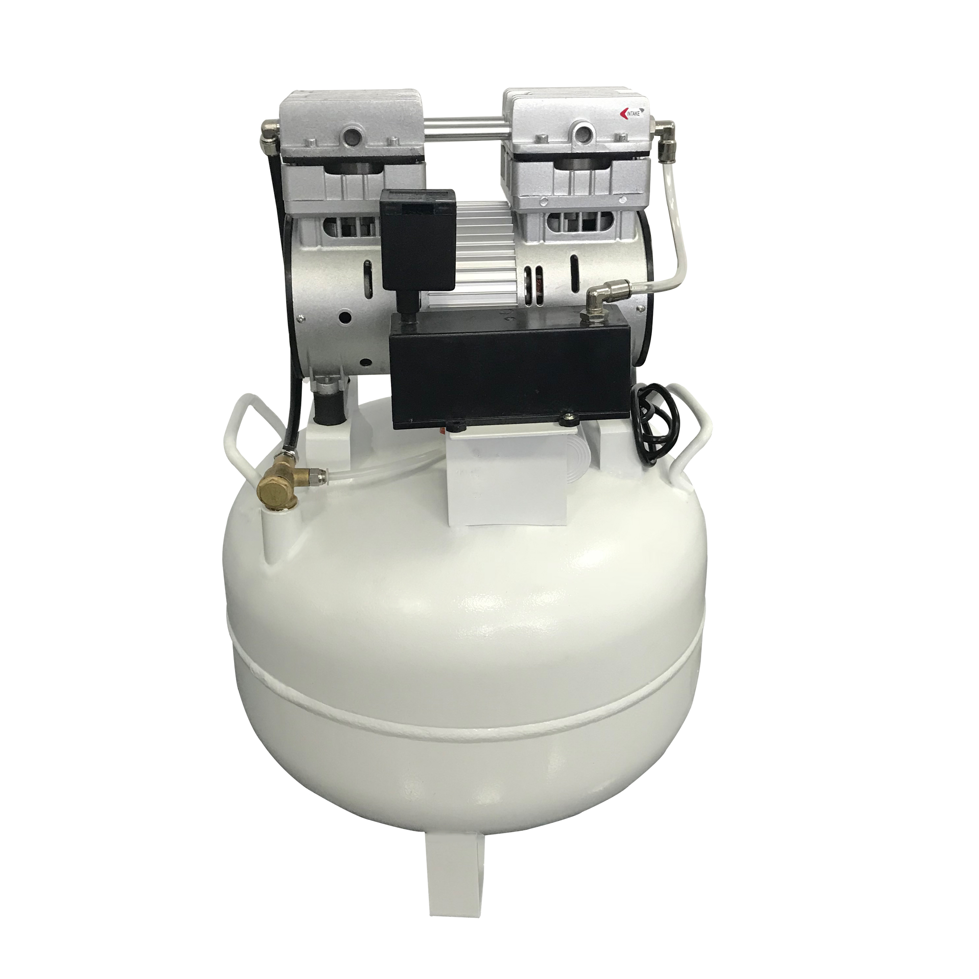 1-Drive-1 Dental Air Compressor Noiseless Oiless Zeta 101