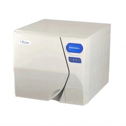 17L Class B Vacuum Steam Autoclave Sterilizer No Printer