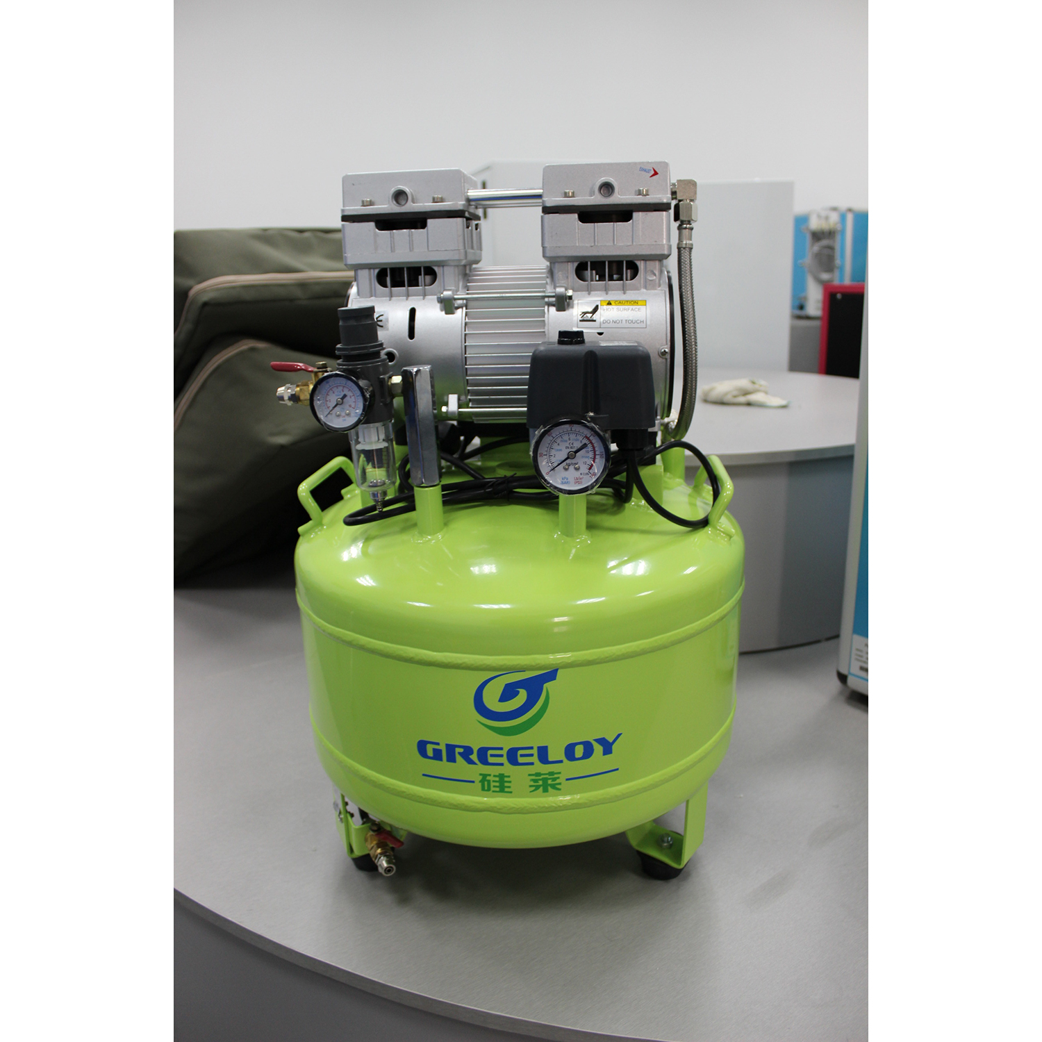 Greeloy Dental Air Compressor  GA-81 One By Two