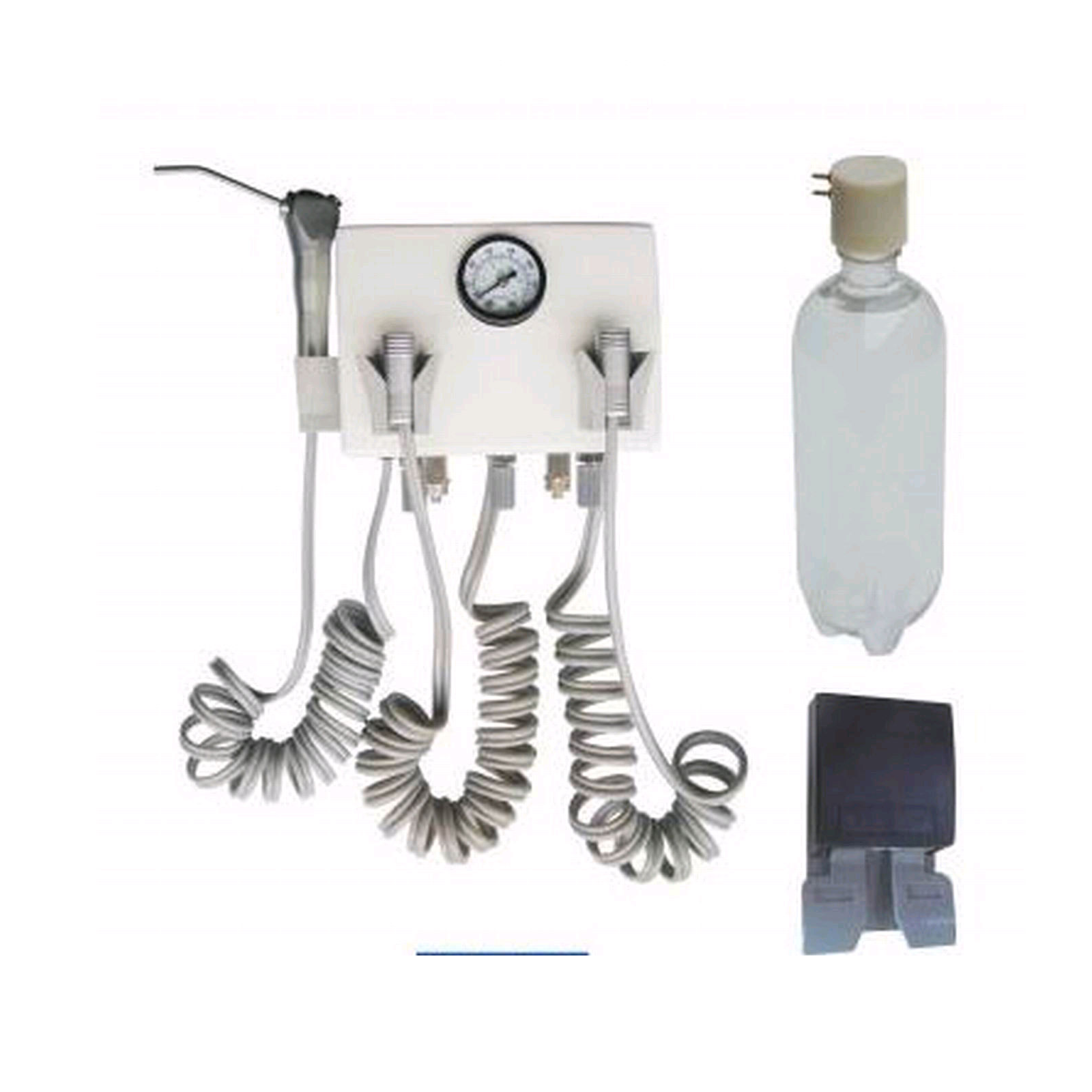 Wall Mounted Dental Turbine Unit Compatible With Compressor 4H/2H