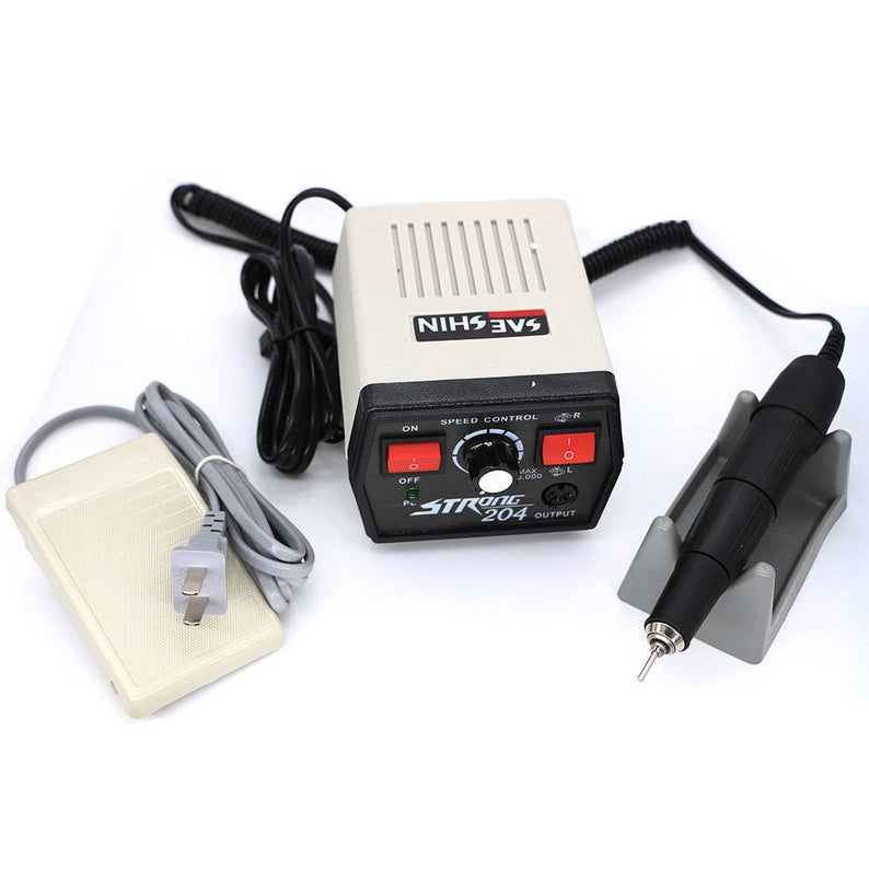 Marathon Strong Nail Drill Machine Saeyang Micro Motor with Electric Dental Dril...