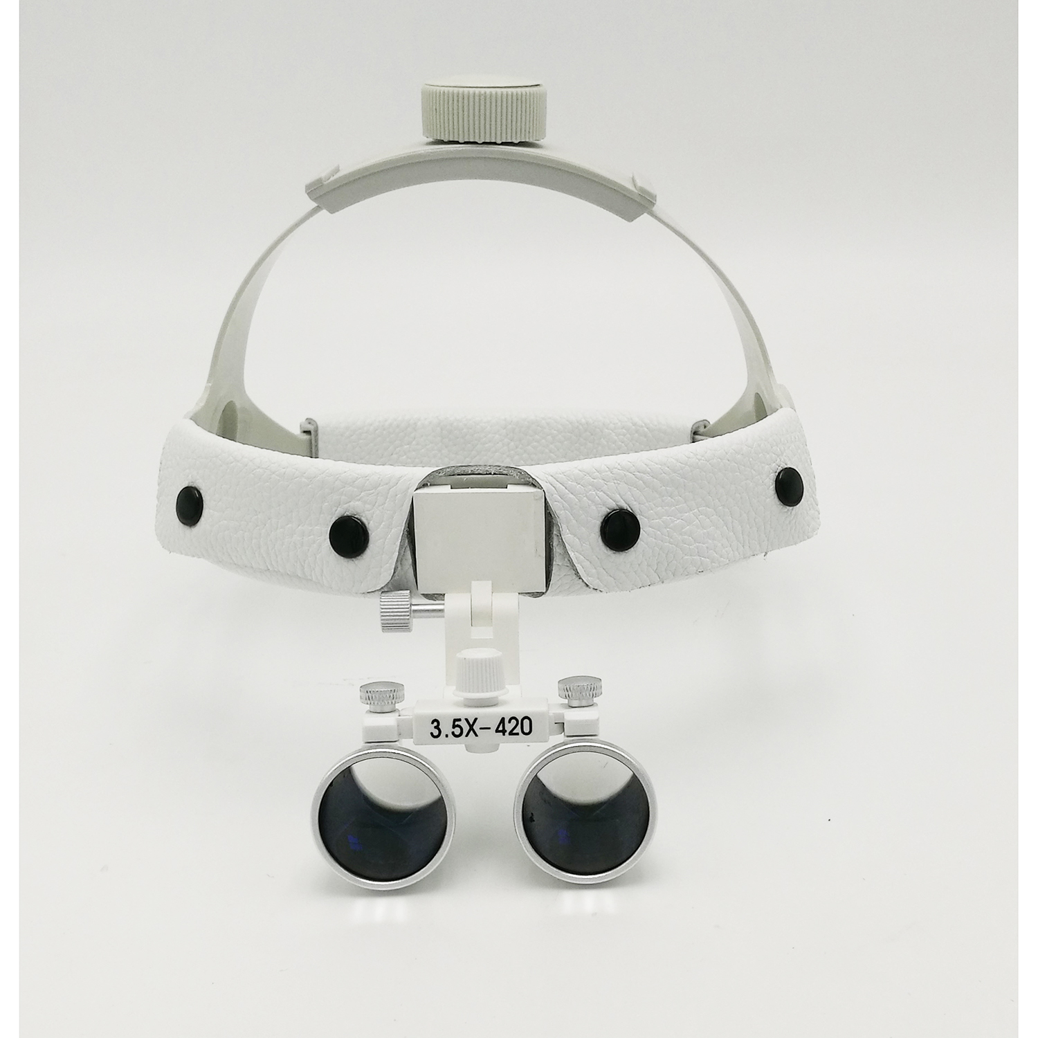 3.5X Dental Surgery Maginifiers Medical Loupes Maginifying Glass + LED Headlight