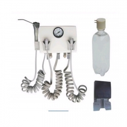 Wall Mounted Dental Turbine Unit Work With Compressor 4H/2H