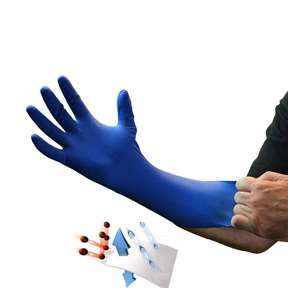 50 Pairs Dispoable Latex Nitrile Gloves Powder Free
