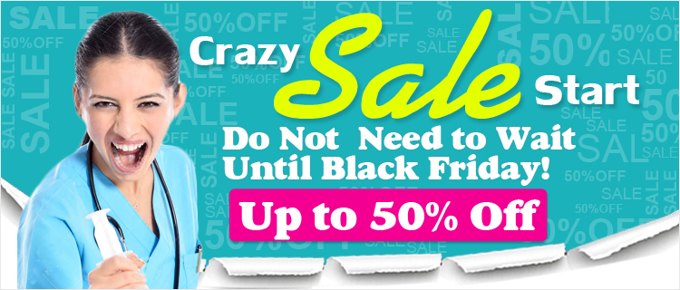 Crazy Sale Start, Do Not  Need to Wait Until Black Friday!Up to 50% Off
