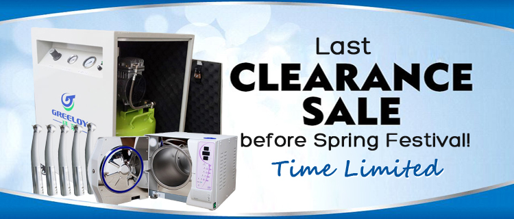 Last Clearance Sale before Spring Festival! Time Limited